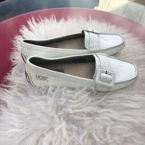 Ugg Australia amazing patent leather loafers new